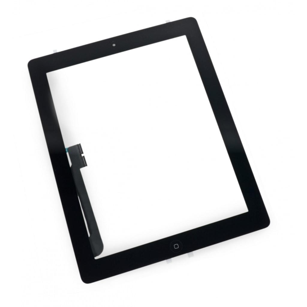 Apple iPad 3 dotykové sklo černé digitizer