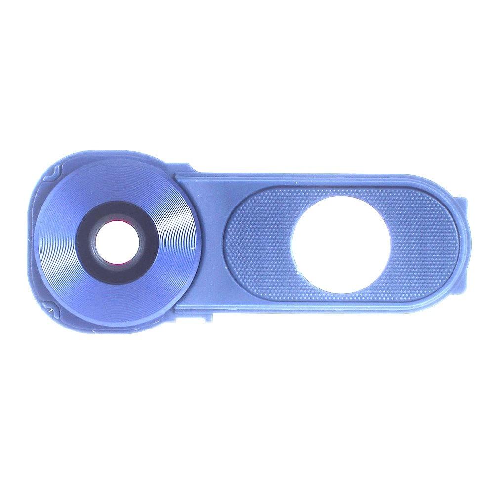 LG V10 krytka čočky fotoaparátu světle modrá