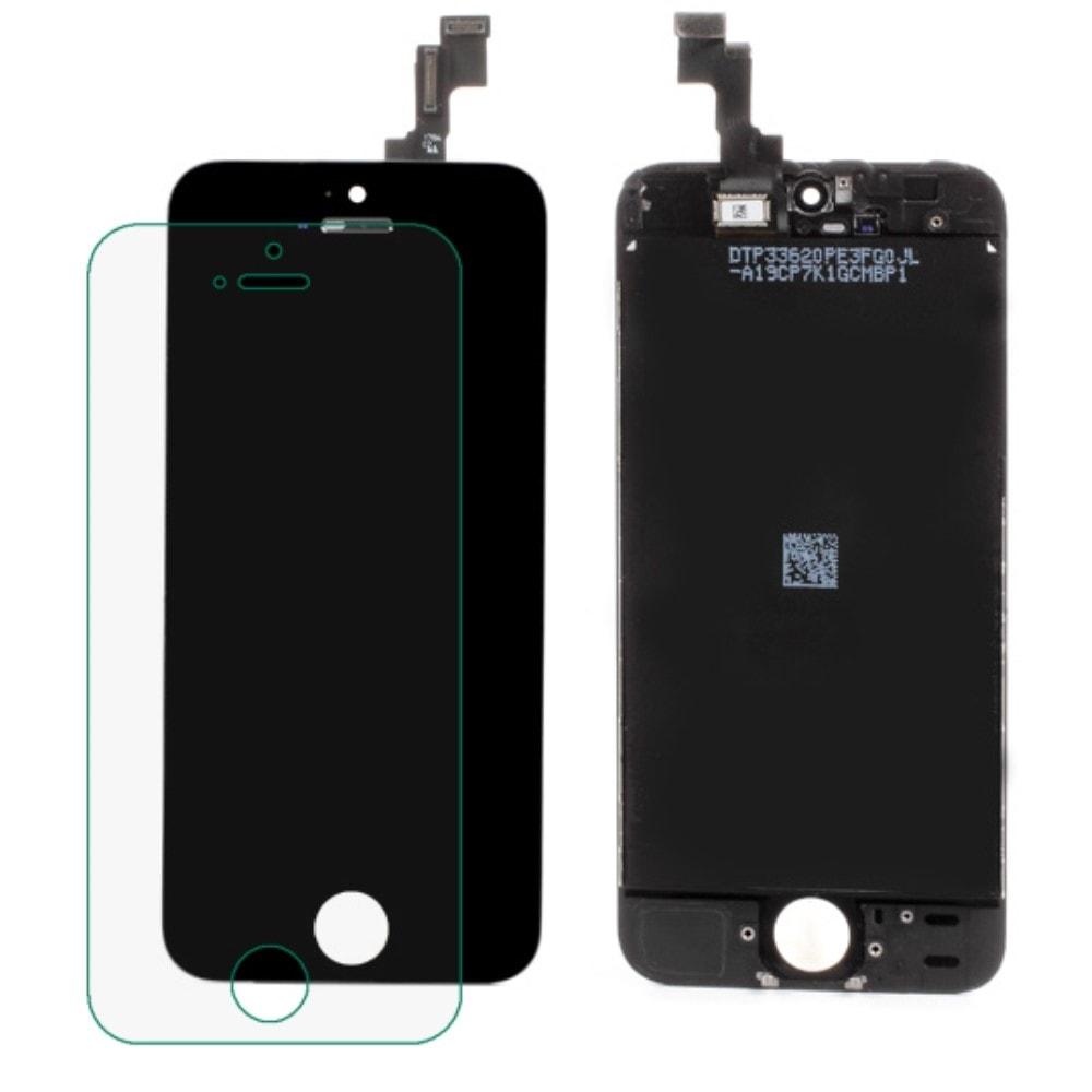 Apple iPhone SE / 5S LCD displej dotykové sklo černé originální