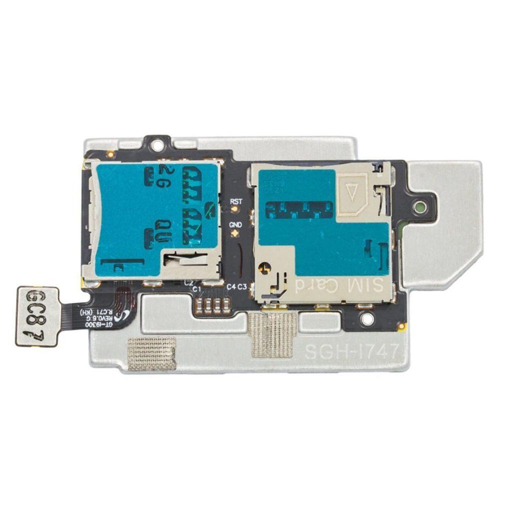 Samsung Galaxy S3 čtečka SIM a SD karty i9300