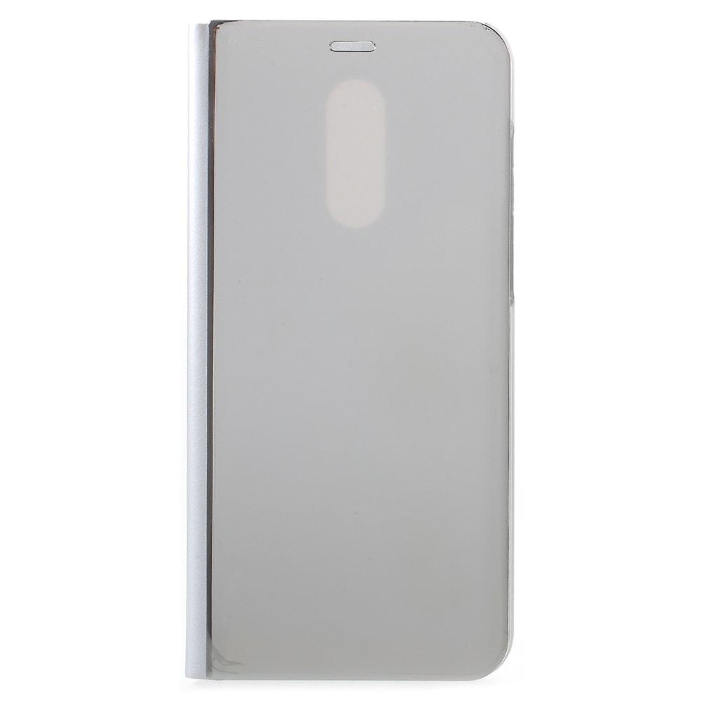 Xiaomi Redmi 5 Plus ochranné pouzdro obal knížka stříbrná