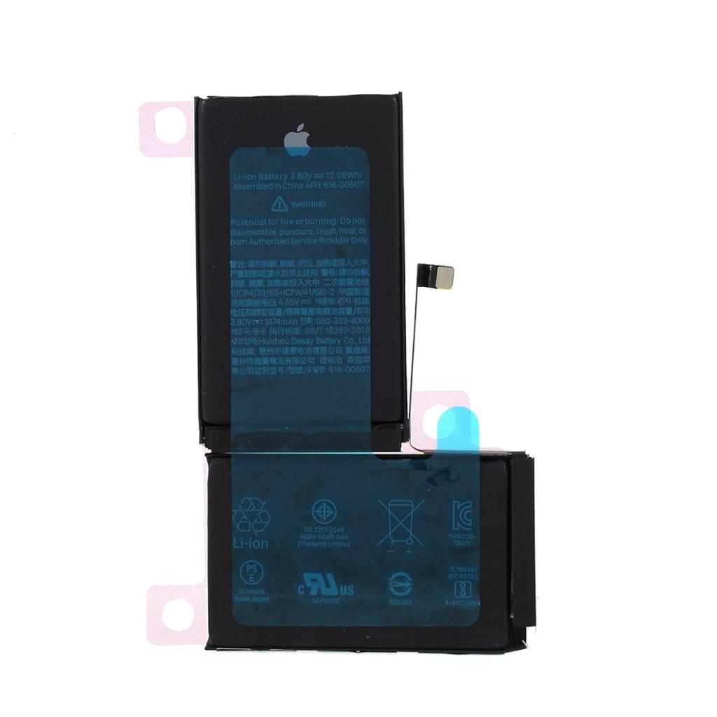 Apple iPhone XS Max baterie original včetně lepících pásek pod baterii