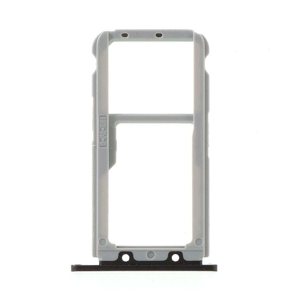 Huawei Nova 3 šuplík na  SIM SD kartu černý