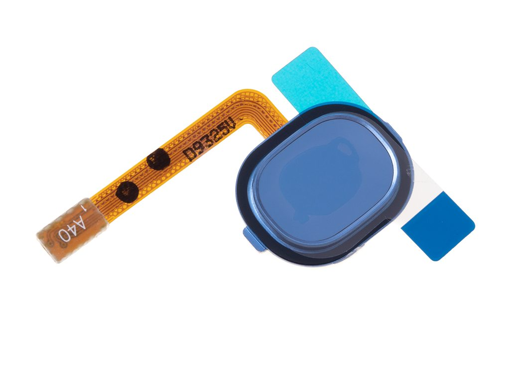 Samsung A40 tlačítko otisk prstu flex fingerprint modrý A405