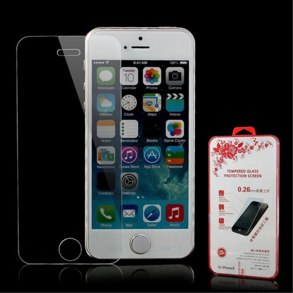 Apple iPhone 5 5S SE Ochranné tvrzené sklo na displej 2,5D 0,26mm