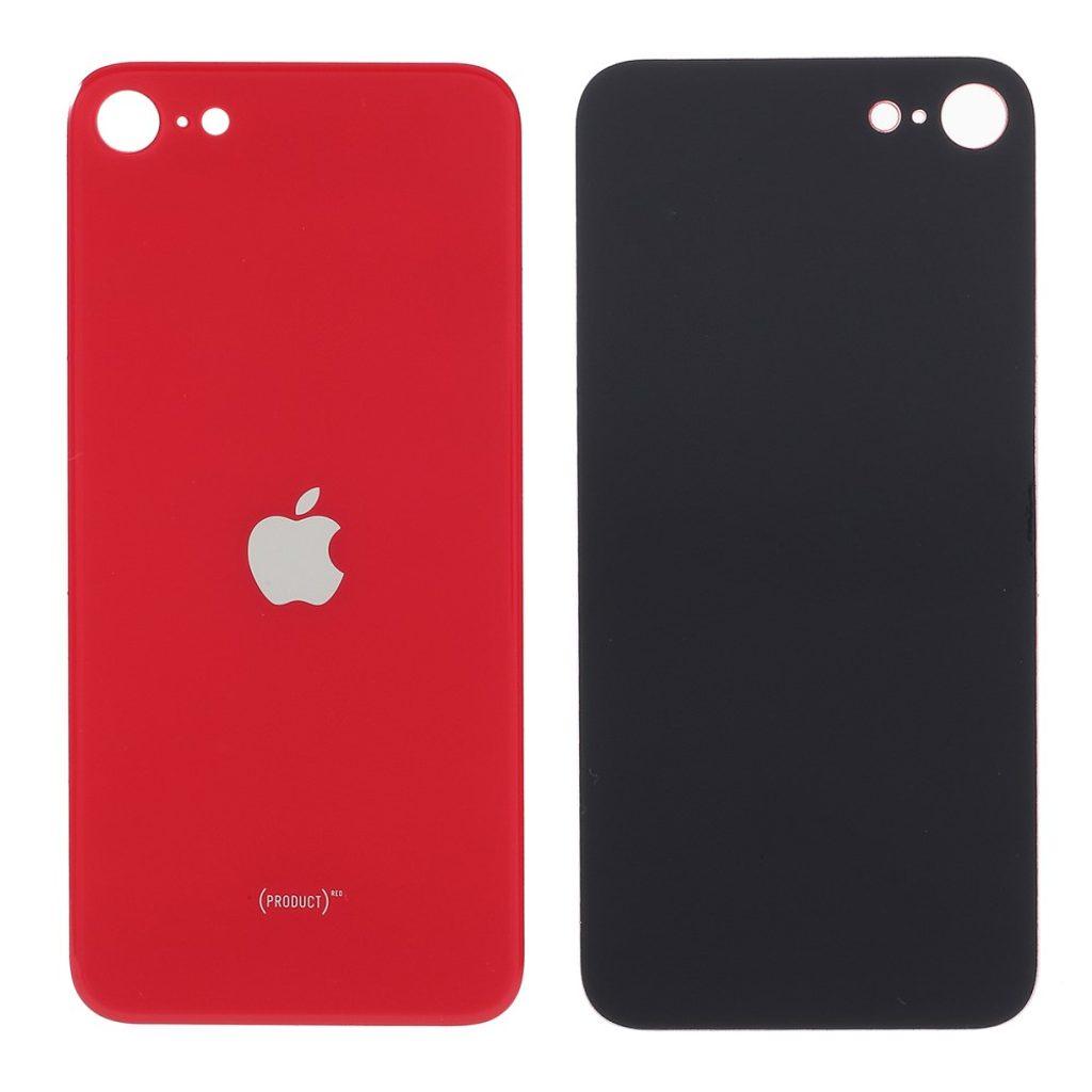 Apple iPhone SE 2. generace zadní skleněný kryt baterie červený