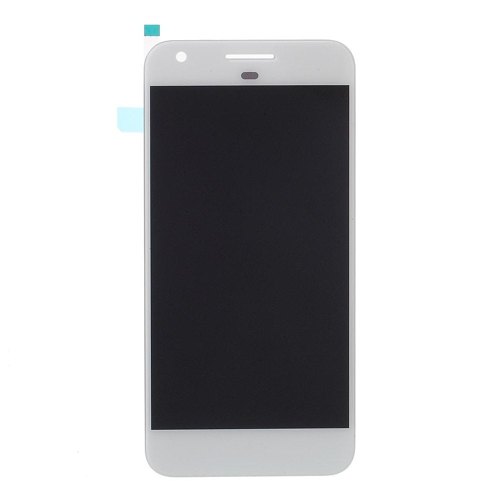 Google Pixel LCD displej dotykové sklo bílé S1