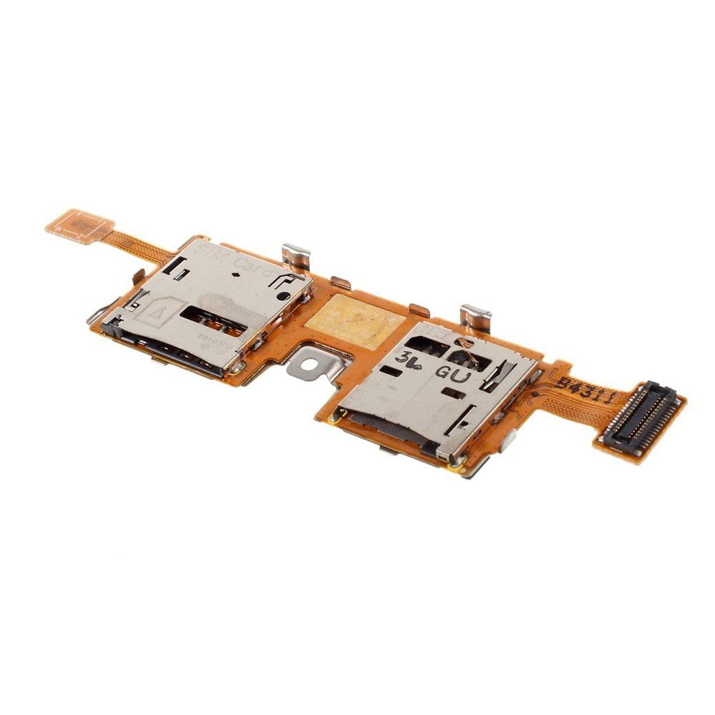 Samsung Galaxy Note PRO SM-P905 čtečka SIM a SD karty flex