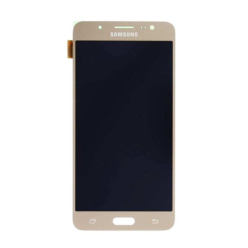 Samsung Galaxy J5 2016 LCD displej dotykové sklo zlaté J510F