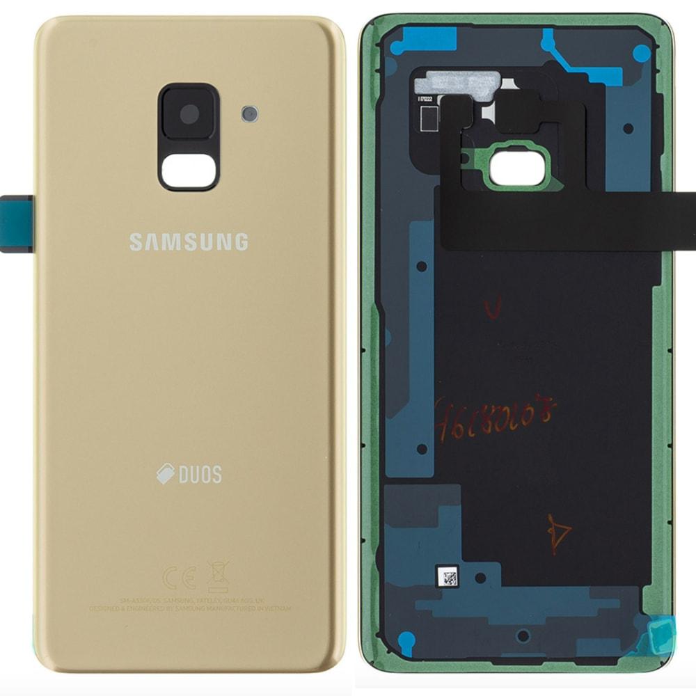 Samsung Galaxy A8 2018 zadní kryt zlatý A530F (Service Pack)