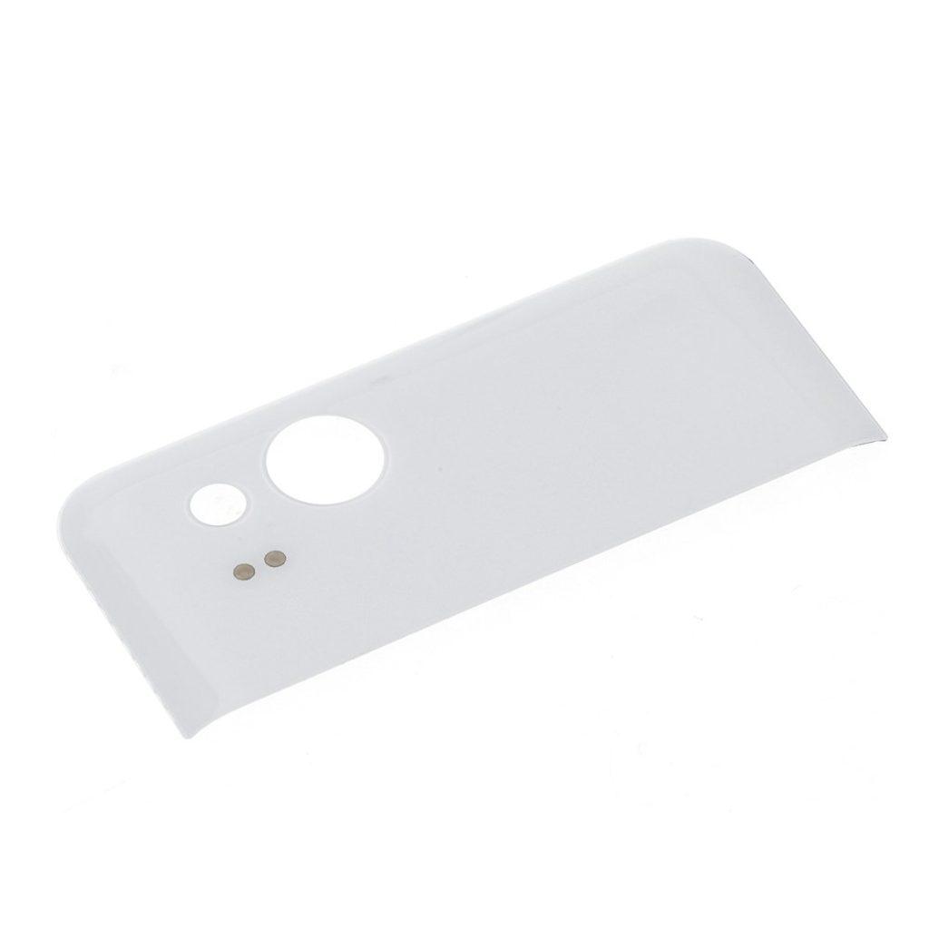 Google Pixel 2 XL  skleněná krytka část zadního krytu baterie bílé