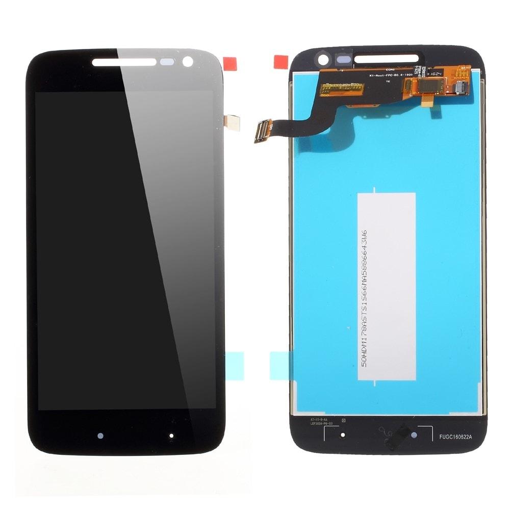 Motorola Moto G4 Play LCD displej dotykové sklo komplet černý