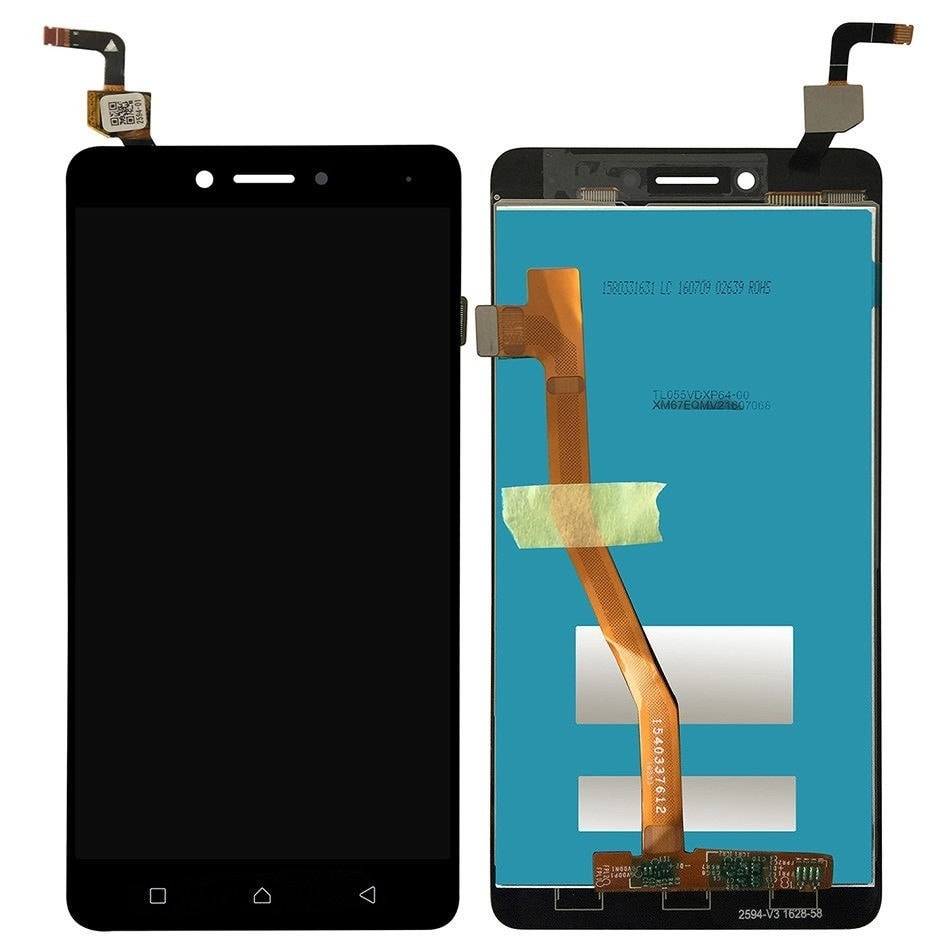 Lenovo K6 Note LCD displej dotykové sklo černé