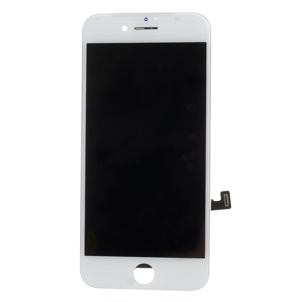 Apple iPhone 8 / SE (2020) LCD displej dotykové sklo přední panel bílá