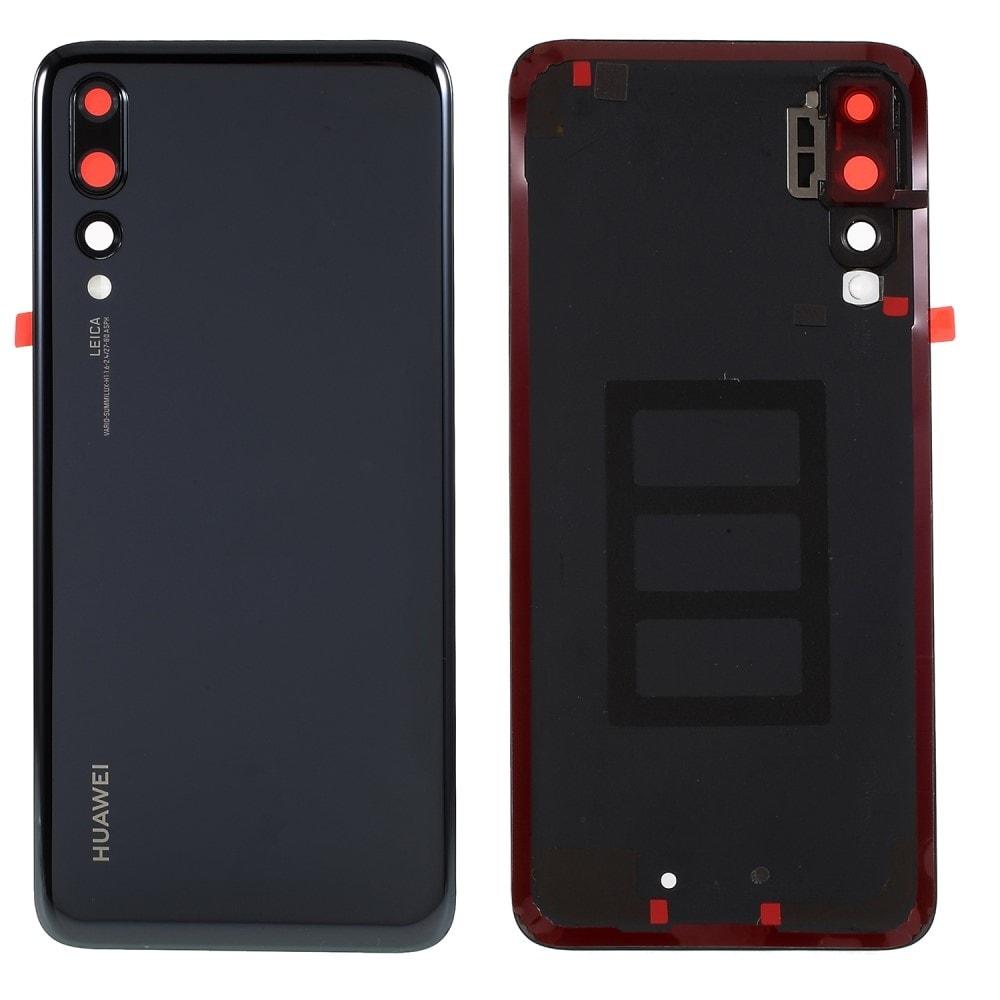 Huawei P20 PRO zadní kryt baterie černý včetně krytky fotoaparátu
