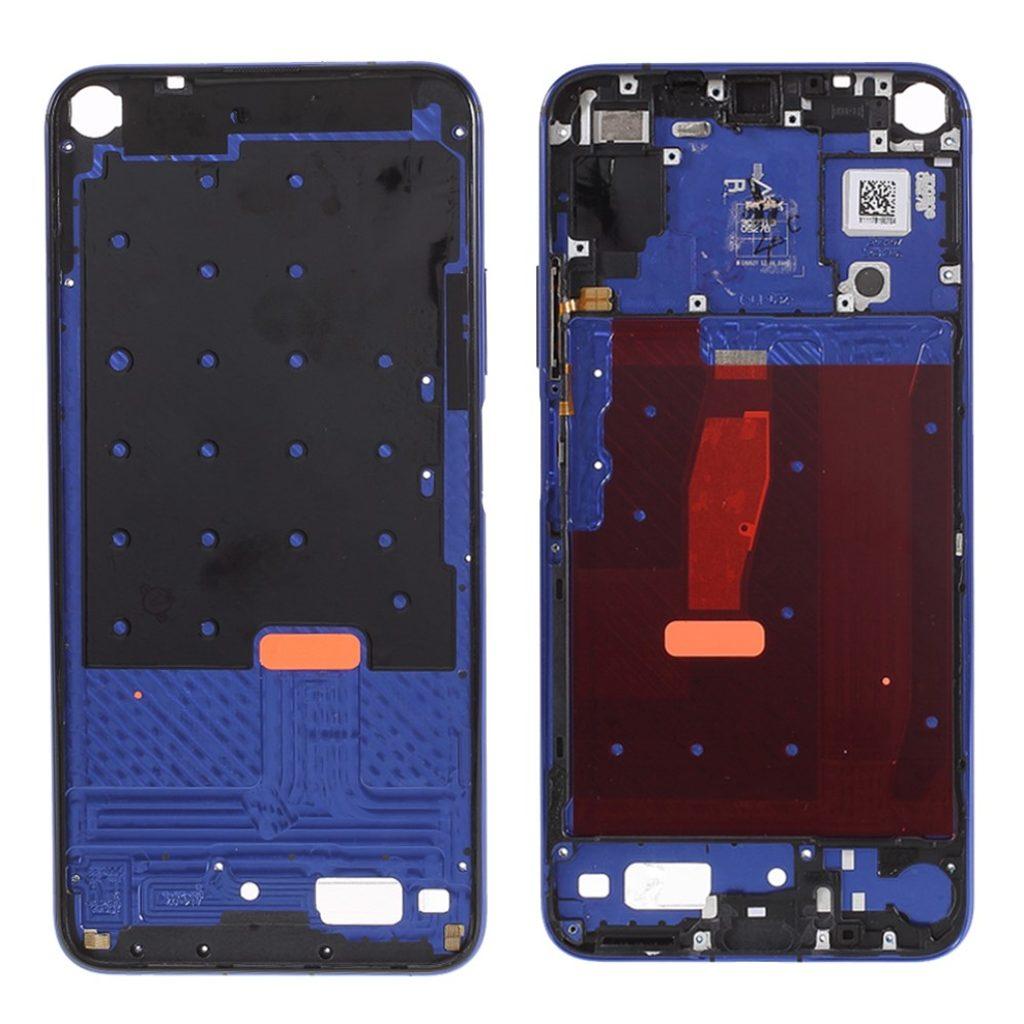 Honor 20 / Huawei Nova 5T středový rámeček střední kryt modrý YAL-L21
