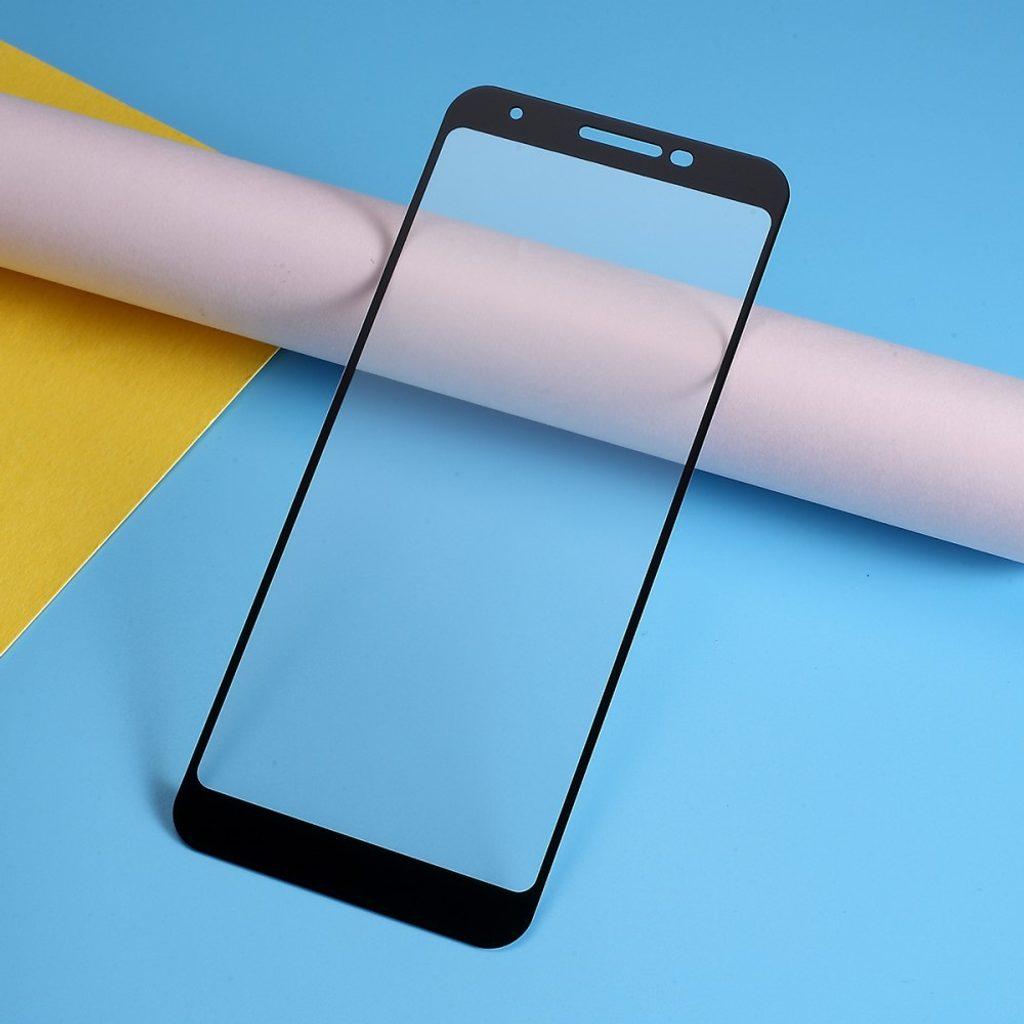 Google Pixel 3a Ochranné tvrzené sklo na displej černé