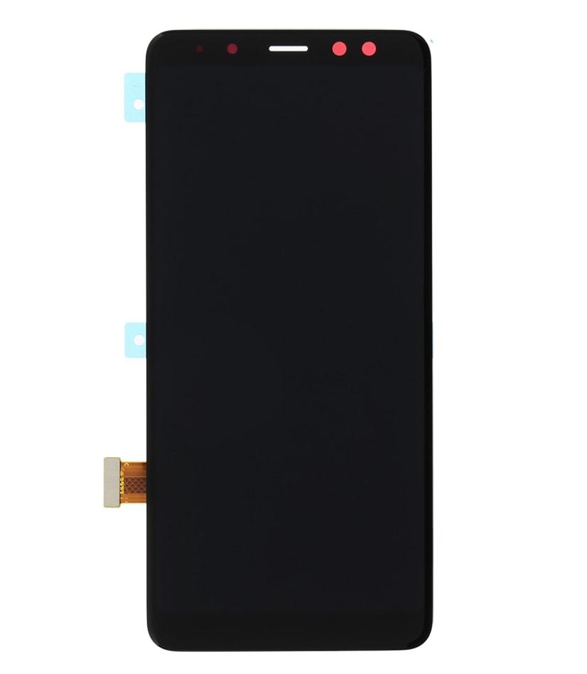 Samsung Galaxy A8 2018 Amoled LCD displej dotykové sklo černé A530