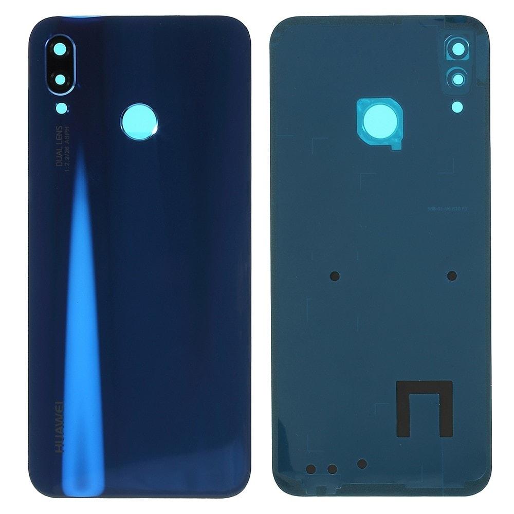 Huawei P20 Lite zadní kryt baterie modrý včetně krytky fotoaparátu