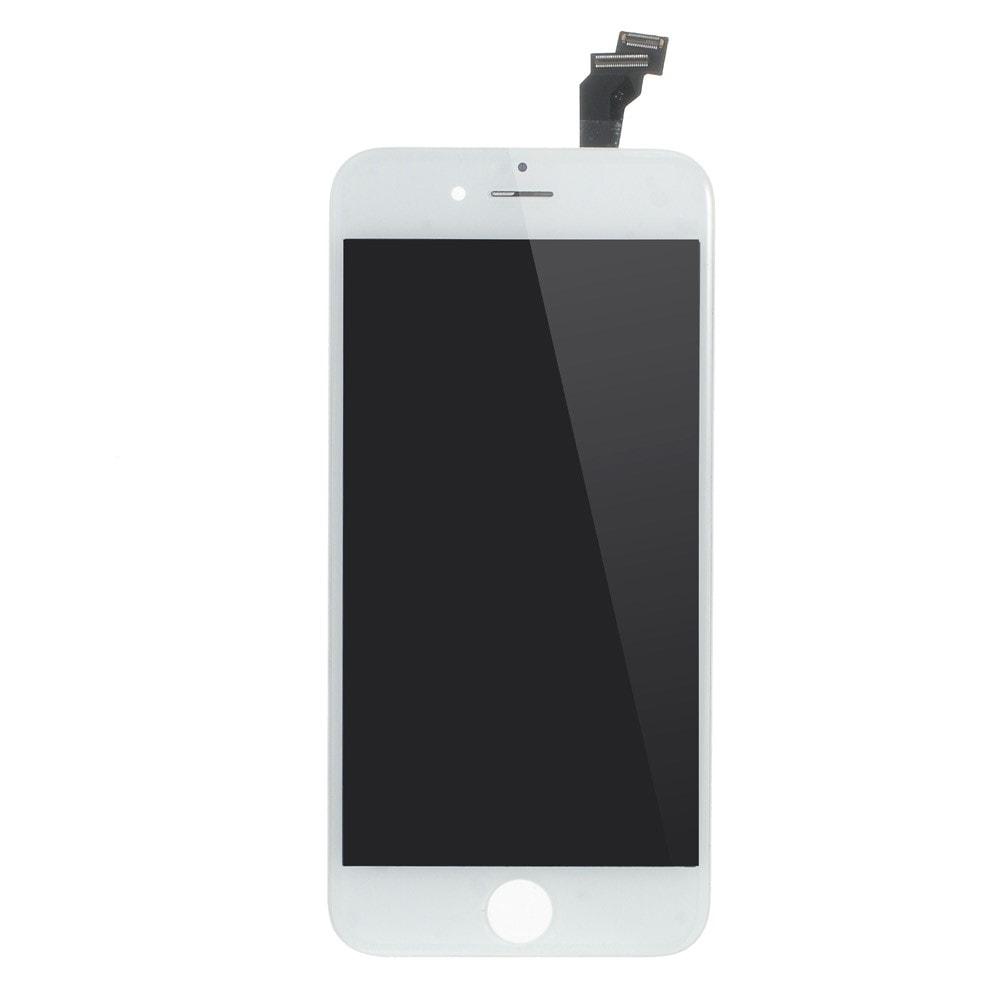 Apple iPhone 6 LCD displej bílý dotykové sklo komplet přední panel