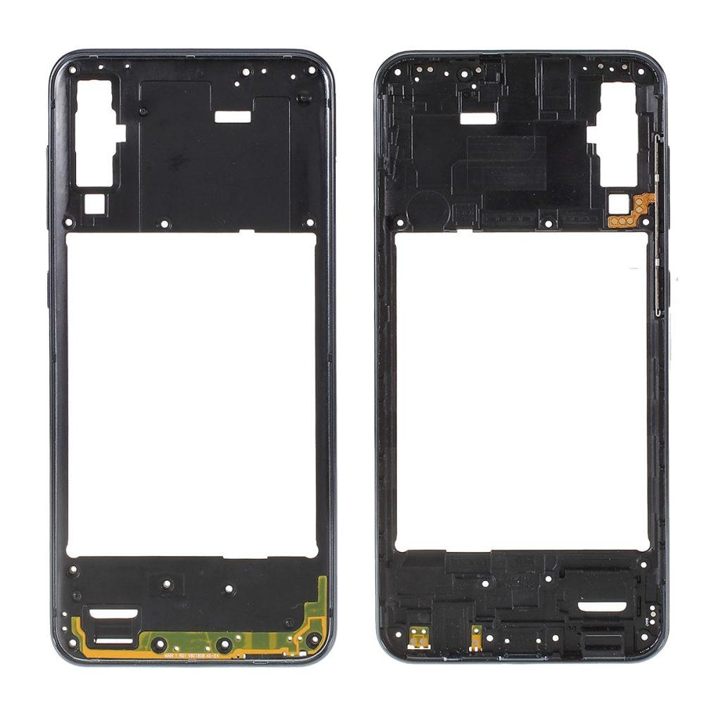 Samsung Galaxy A50 středový rámeček střední kryt černý SM-A505