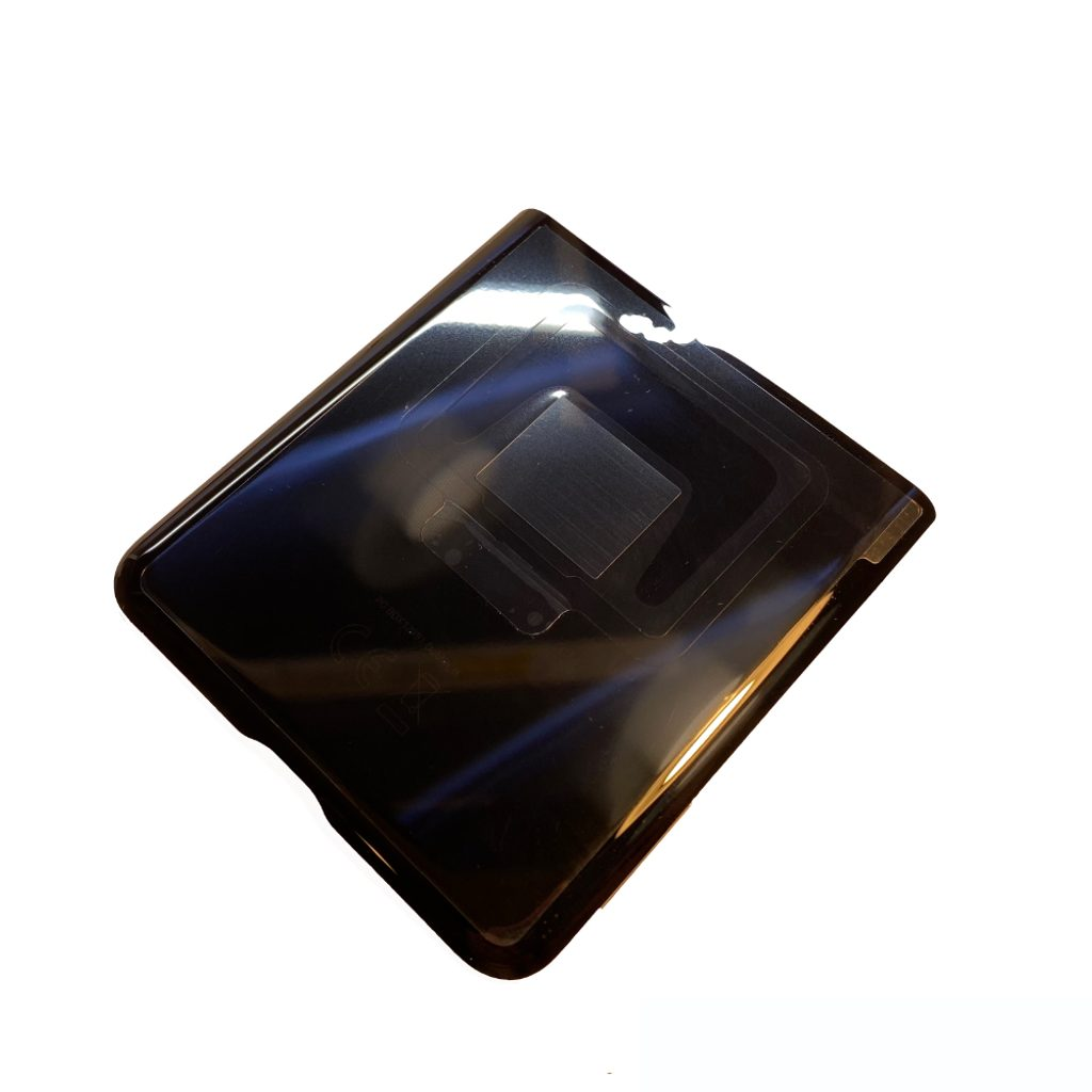 Samsung Galaxy Z Flip kryt baterie Spodní černý F707N (Service Pack)