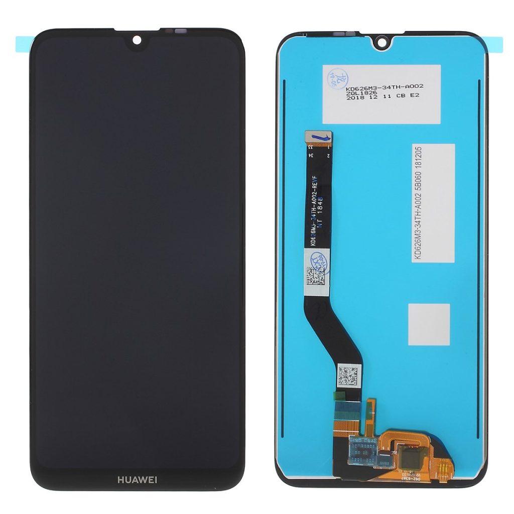 Huawei Y7 (2019) / Y7 Prime 2019 LCD displej dotykové sklo černé (11pin)
