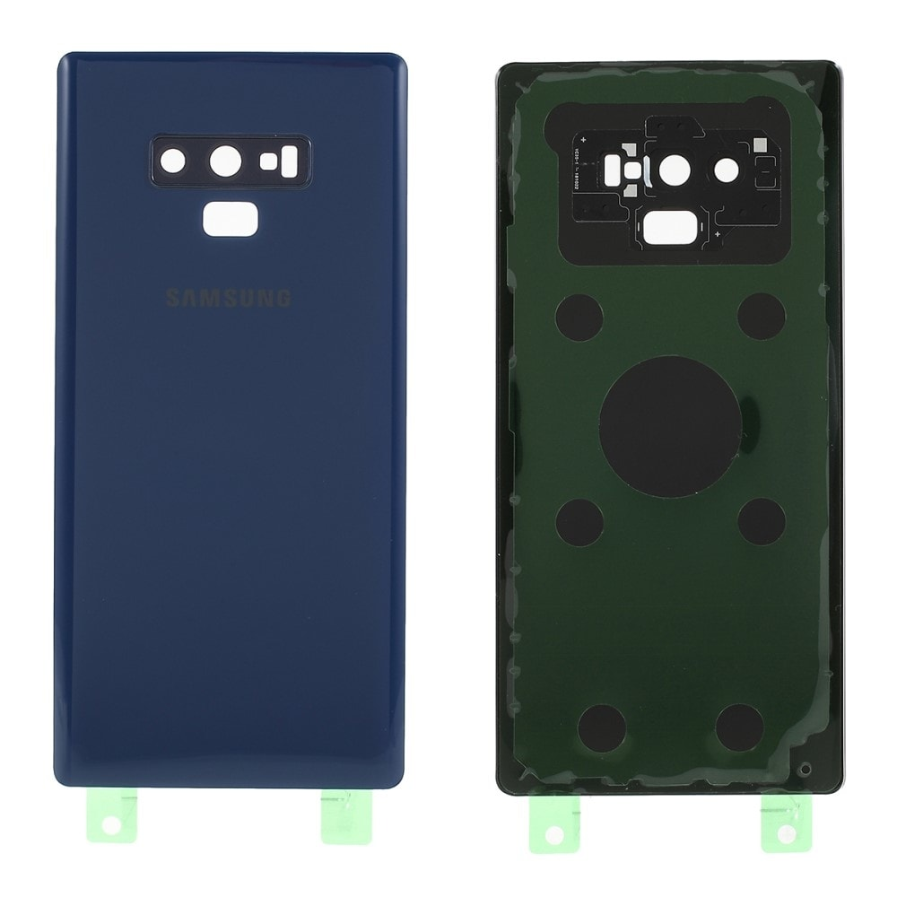 Samsung Galaxy Note 9 zadní kryt baterie modrý včetně osázení krytky fotoaparátu N960