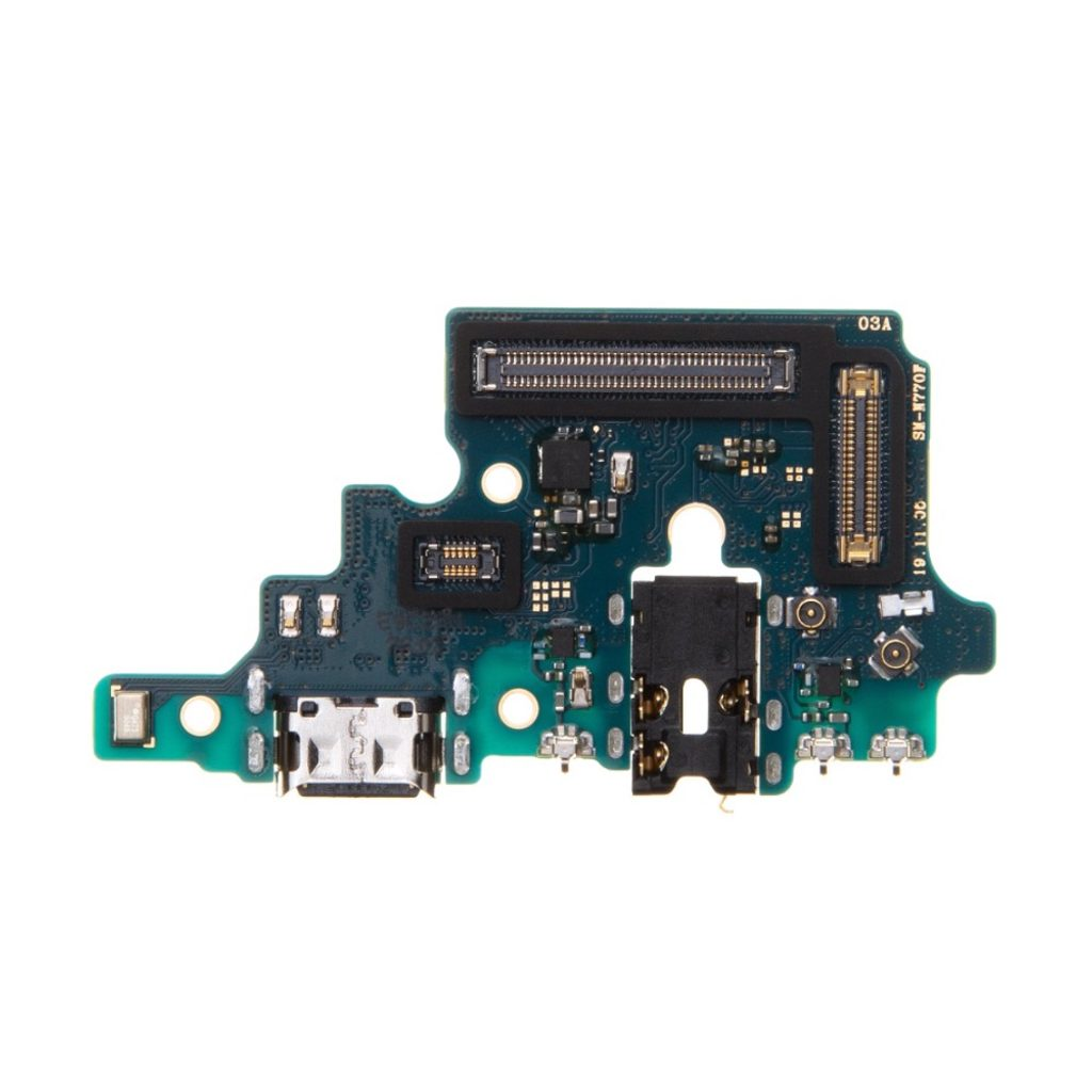 Samsung Galaxy Note 10 Lite dock konektor nabíjení port USB-C flex mikrofon audio 3,5mm N770