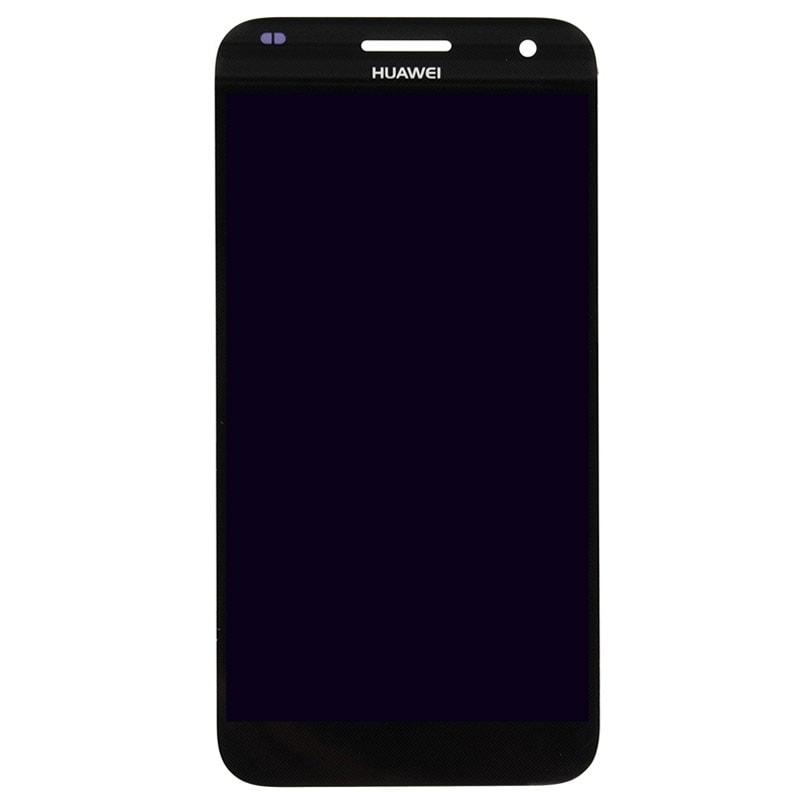 Huawei G7 LCD displej černý dotykové sklo komplet
