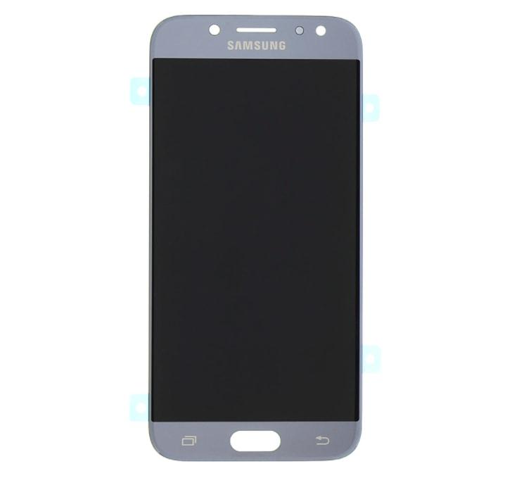 Samsung Galaxy J7 2017 Amoled LCD displej dotykové sklo stříbrné J730F