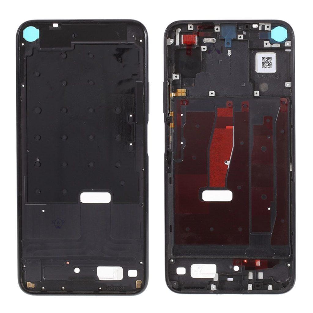 Honor 20 / Huawei Nova 5T středový rámeček střední kryt černý YAL-L21