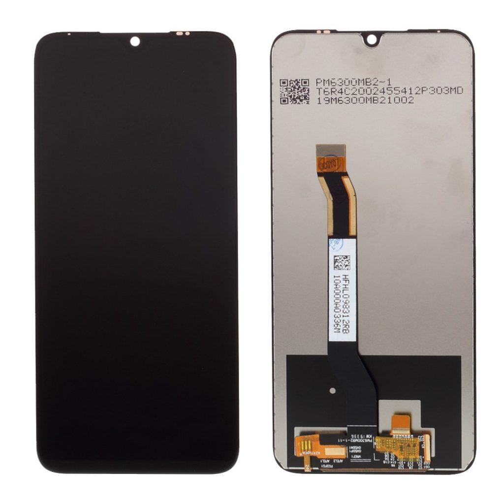 Xiaomi Redmi Note 8 LCD displej dotykové sklo komplet přední panel černý