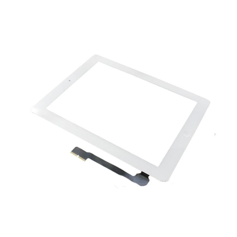 Apple iPad 3 dotykové sklo bílé digitizer