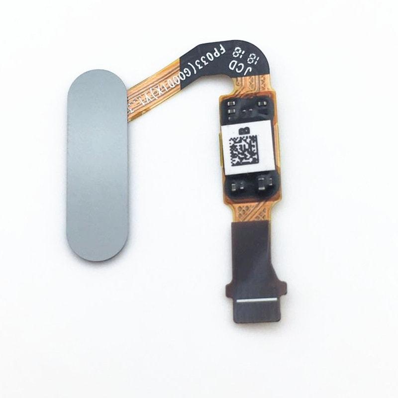 Huawei P20 / P20 Pro senzor otisku prstu home button tlačítko flex touch id šedý