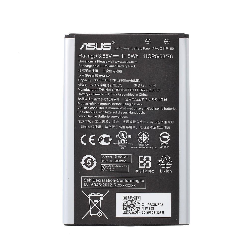 Asus Zenfone 2 Laser baterie ZE600KL ZK601KL ZE550KL ZE551KL C11P1501 US Verze