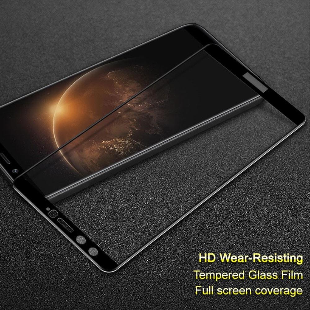 Honor 9 Lite Ochranné tvrzené sklo černé