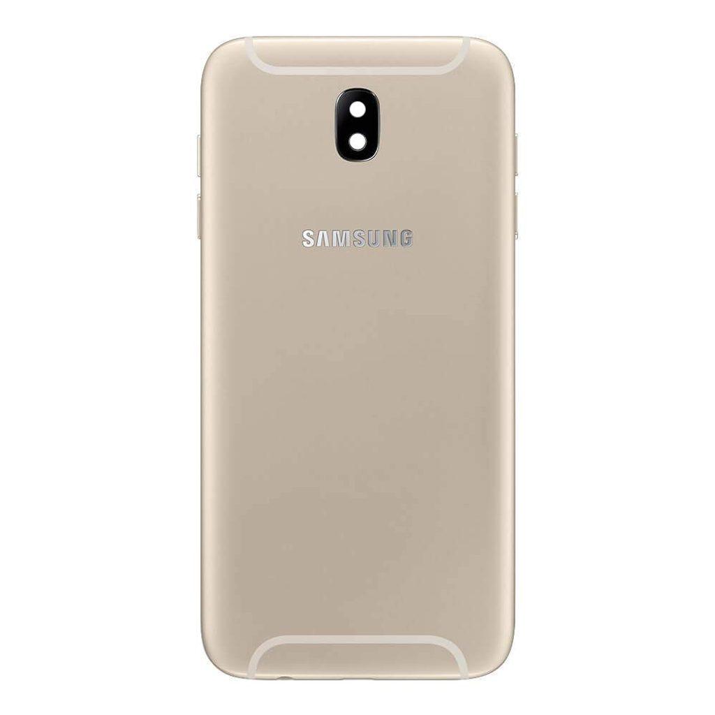 Samsung Galaxy J7 2017 kryt baterie zlatý J730 (Service pack)