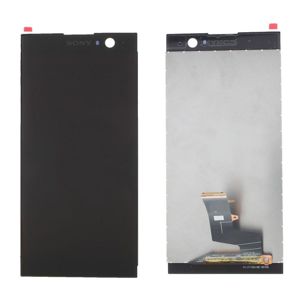 Sony Xperia XA2 LCD displej dotykové sklo komplet přední panel černý