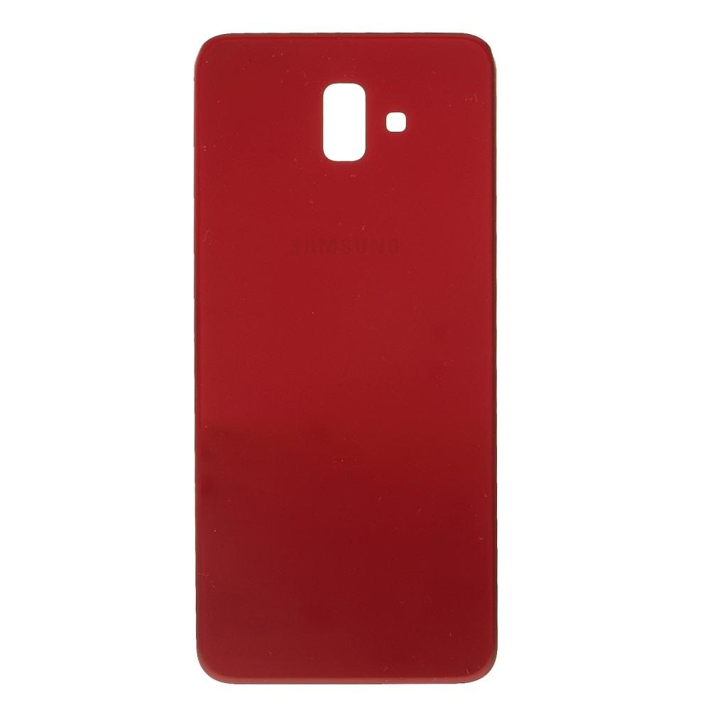 Samsung Galaxy J6 Plus zadní kryt baterie červený J610