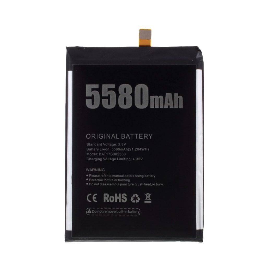 Doogee S30 Baterie 5580mAh