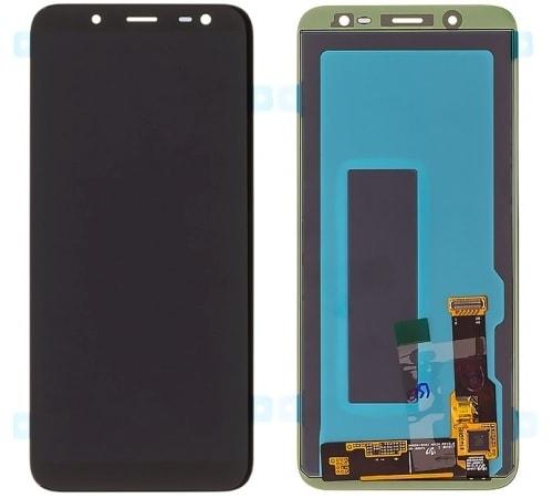 Samsung Galaxy J6 2018 LCD displej dotykové sklo černé J600