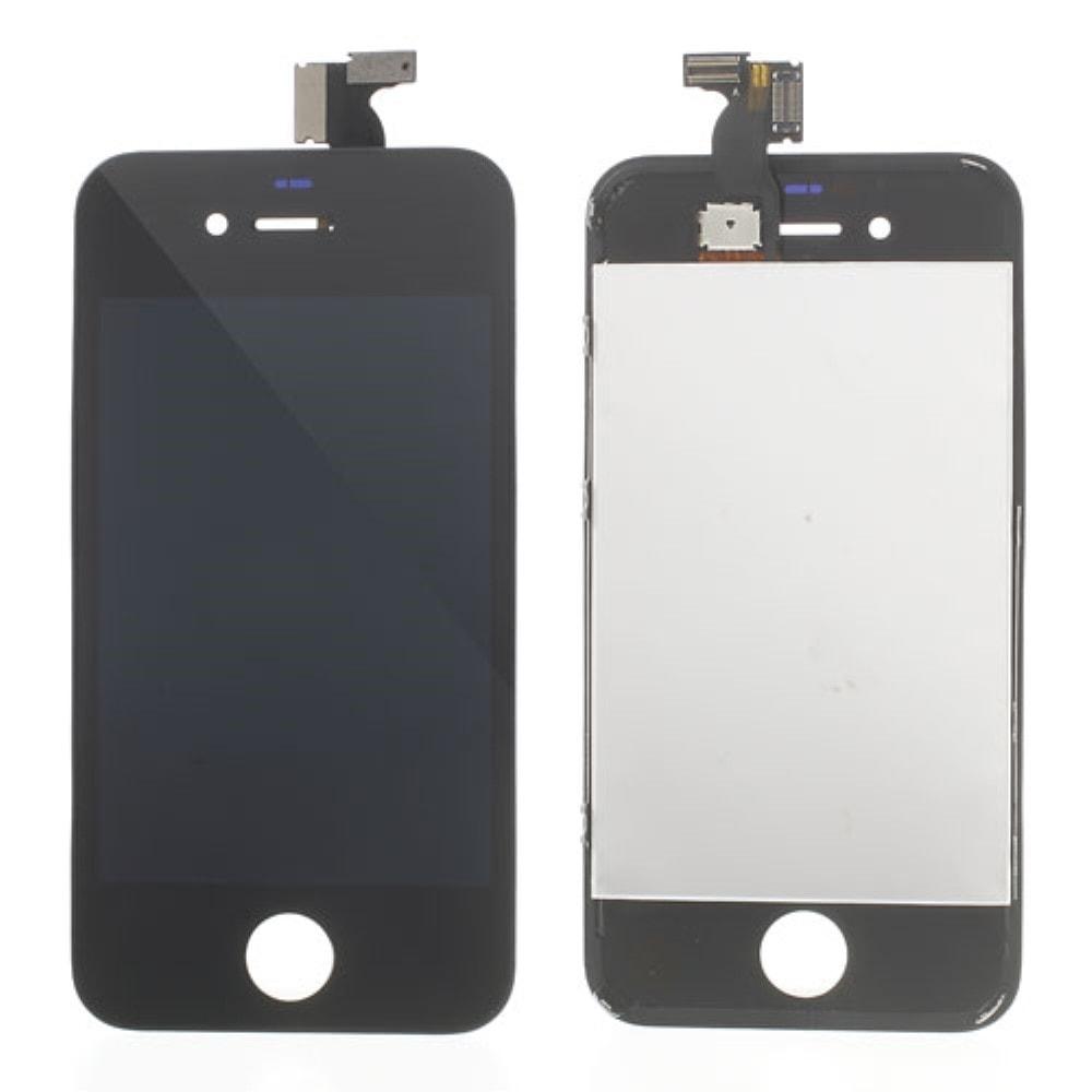 Apple iPhone 4 LCD displej černý + dotykové sklo komplet