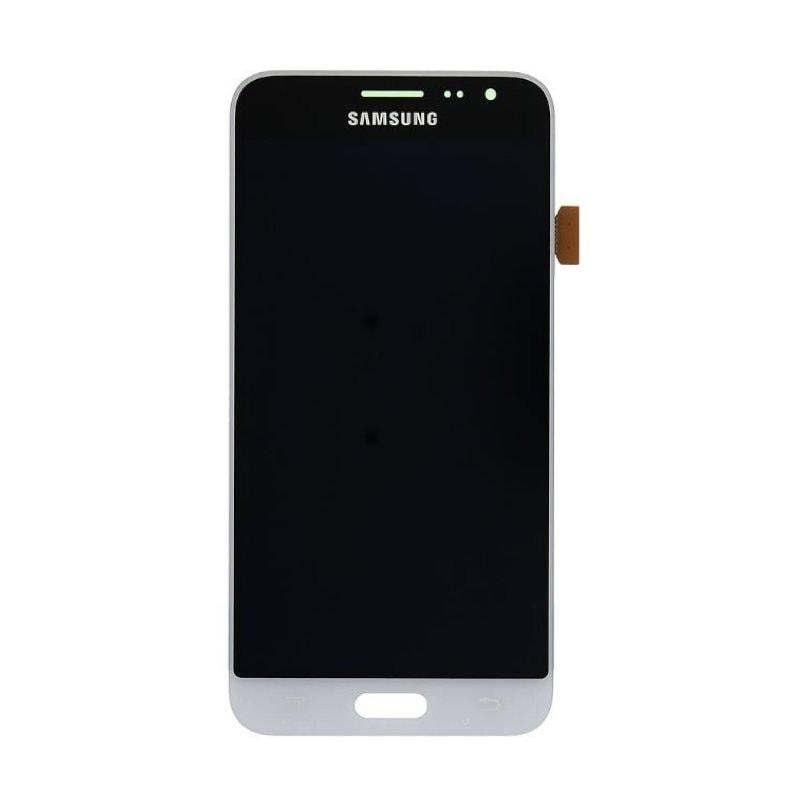 Samsung Galaxy J3 2016 LCD displej dotykové sklo bílé J320F