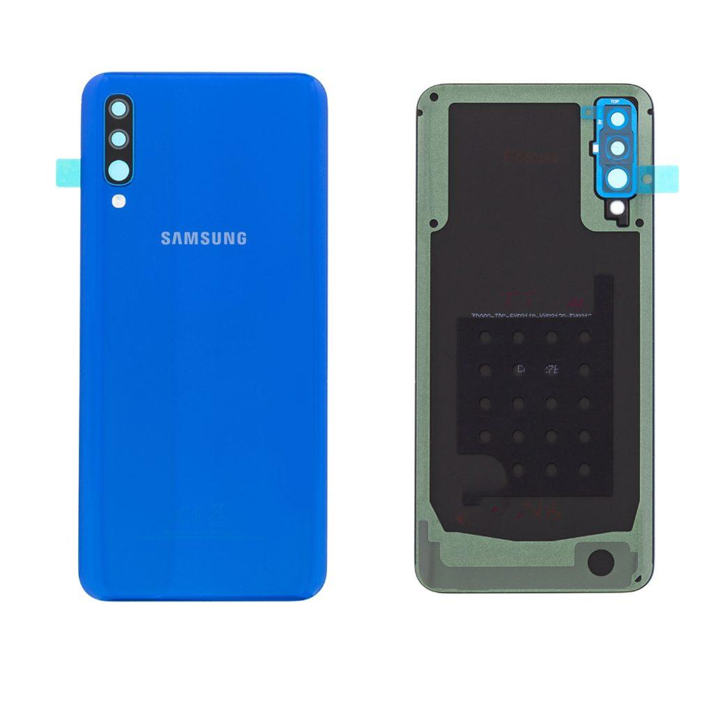Samsung Galaxy A50 zadní kryt baterie modrý A505 (Service Pack)