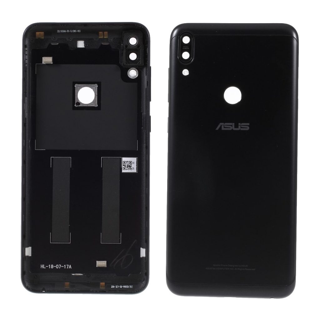 Asus Zenfone Max Pro (M1) ZB601KL zadní kryt baterie včetně krytky fotoaparátu černý