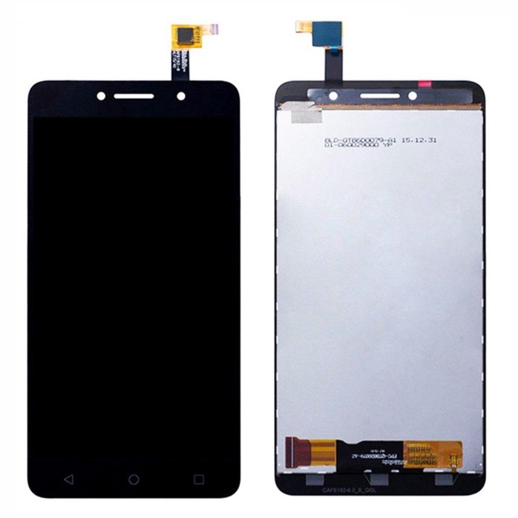 Alcatel Pixi 4 LCD displej dotykové sklo komplet přední panel černý 3G / 8050