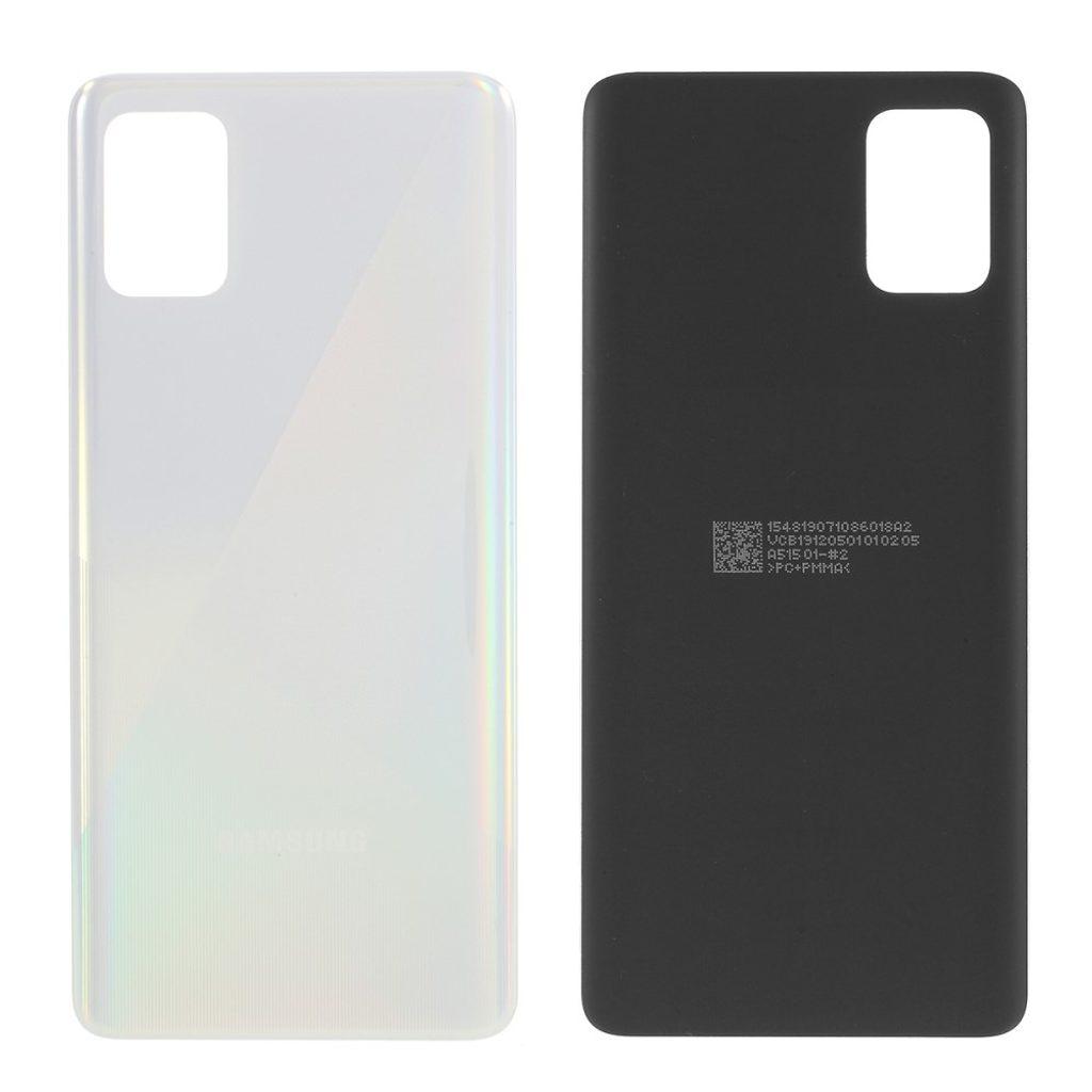 Samsung Galaxy A51 zadní kryt baterie bílý A515