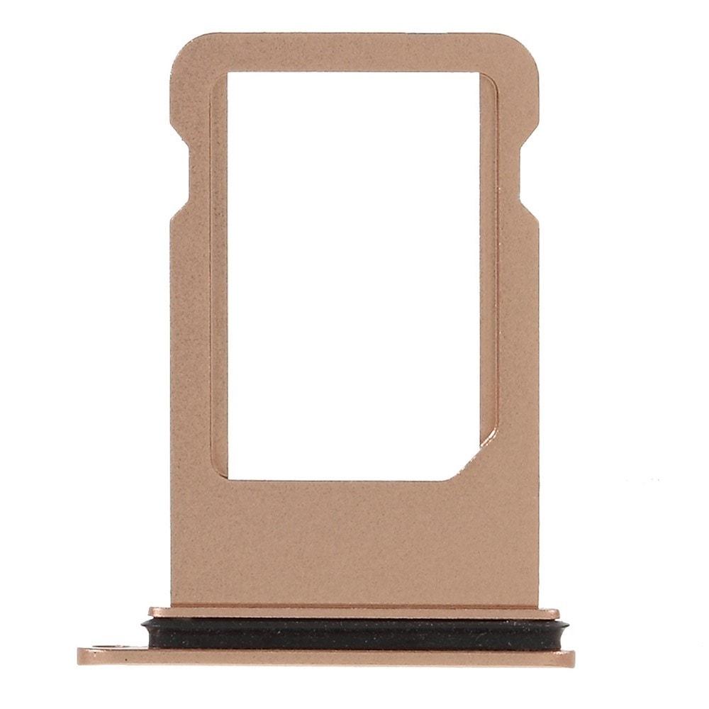 Apple iPhone 8 zlatý šuplík na SIM kartu