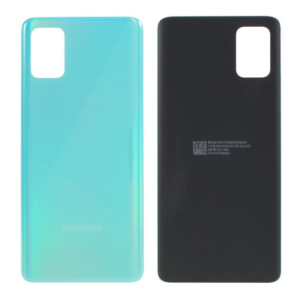 Samsung Galaxy A51 zadní kryt baterie světle modrý A515